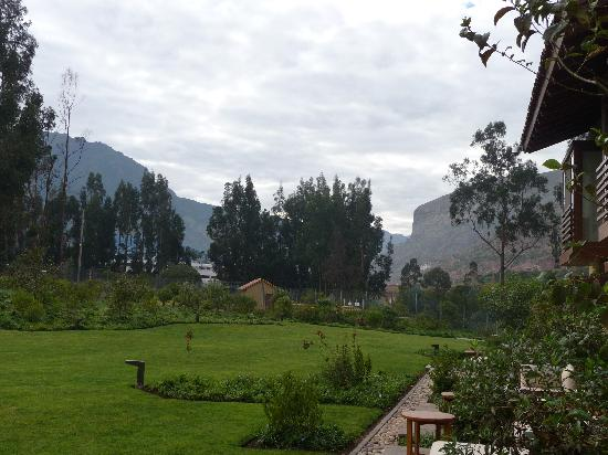 Tambo del Inka, A Luxury Collection Resort & Spa, Valle Sagrado: The view from the patio