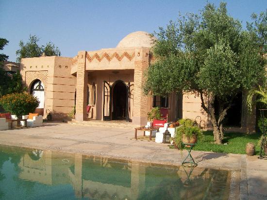 Villa Al Assala: The main building