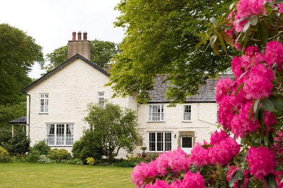 Plas Dinas Country House: The house in its lovely grounds