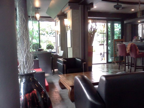 Baipho Boutique Residence Phuket: Lounge and breakfast place