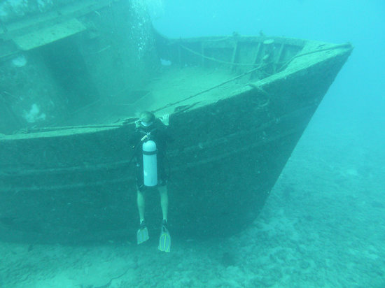 Antigua y Barbuda: Trawler wreck