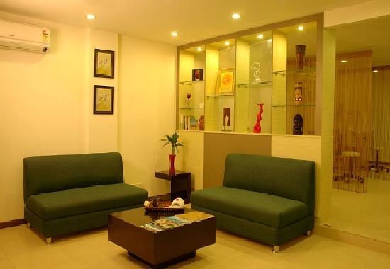 Blue Terra Spa Gurgaon : Waiting Lounge
