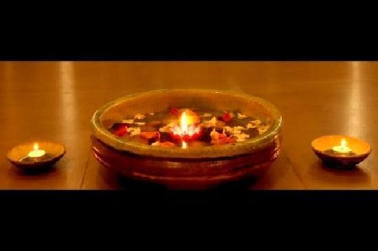 Blue Terra Spa Gurgaon : Foot Ritual Bowl