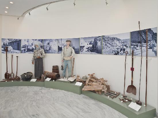 Milos Mining Museum: Bergbau & Werkzeuge
