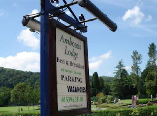 Amboseli Lodge: Online Booking available
