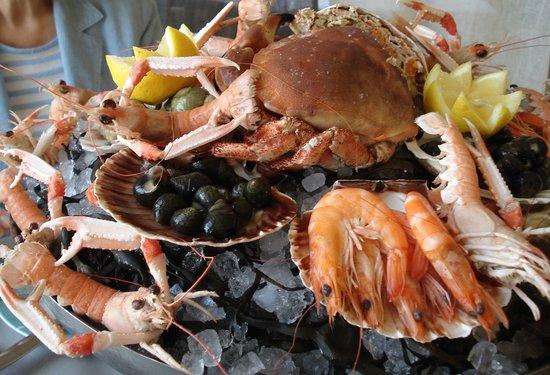 La Maree: Plateau fruits de mer (2 x 34 €)