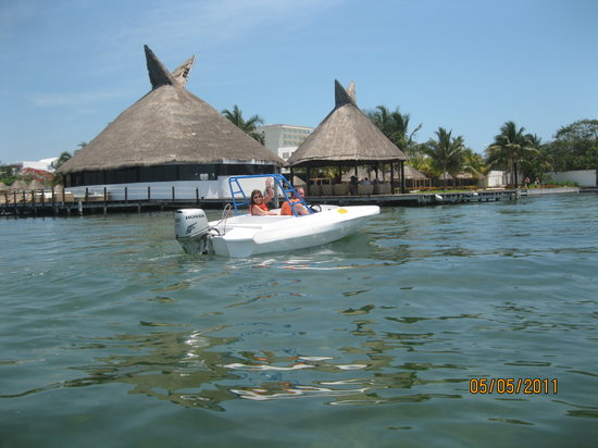Marina Club Lagoon: The snorkeling area