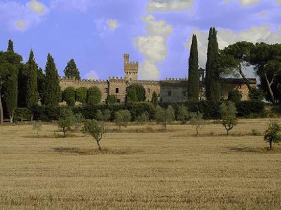 Fattoria Palazzo di Piero : Il Castello dalla valle