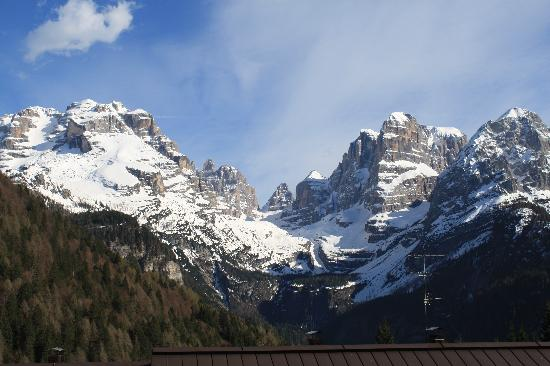 Hotel Lorenzetti: View from our balcony window