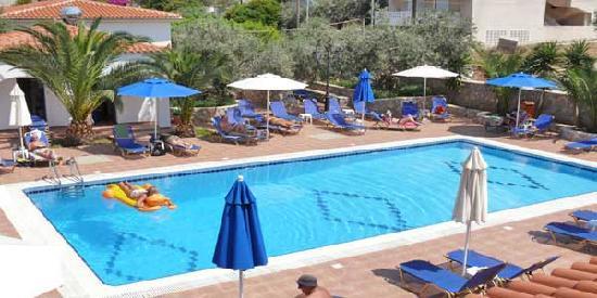 Andreas Hotel: Hotel Andreas swimming pool Agistri