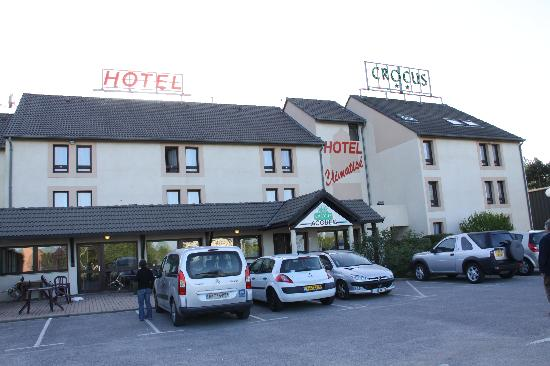 Hotel Crocus Dieppe: The Hotel