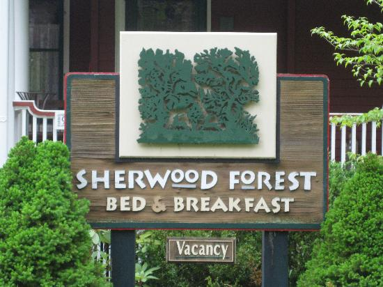 Sherwood Forest Bed and Breakfast: Sherwood Forest B&B