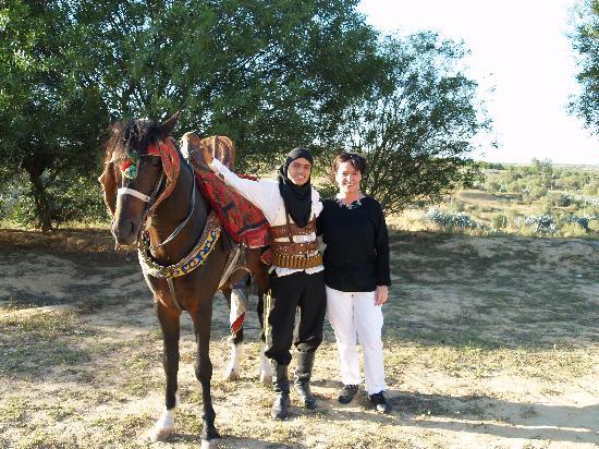 Medinat Alzahra Parc: Beau cavalier