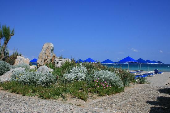 Aquila Rithymna Beach Hotel : le long de la plage