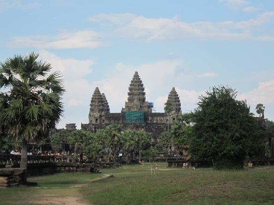 Сием-Рип, Камбоджа: Low season Angkor Wat