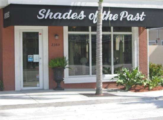 Shades of the Past Antiques: Store Front