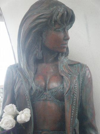 Mirador del Flor / Selena's Seawall Statue