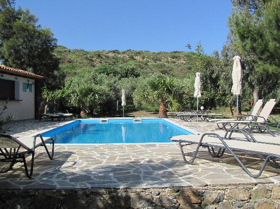 Hotel Irida Plakias: Hotel Irida swimming pool