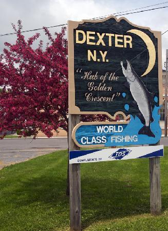 Entering the Village of Dexter, NY