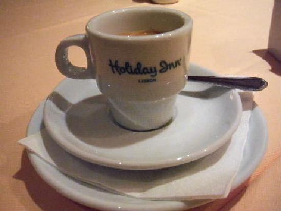 Holiday Inn Lisbon: コーヒー