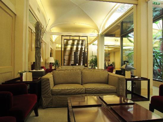 Hotel dei Borgognoni: wi fi area