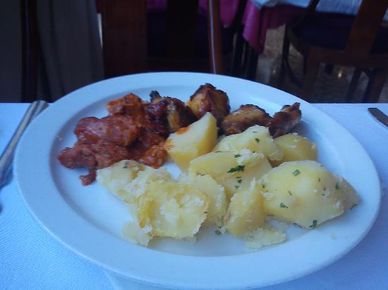 Hotel Rosamar: beautiful meals