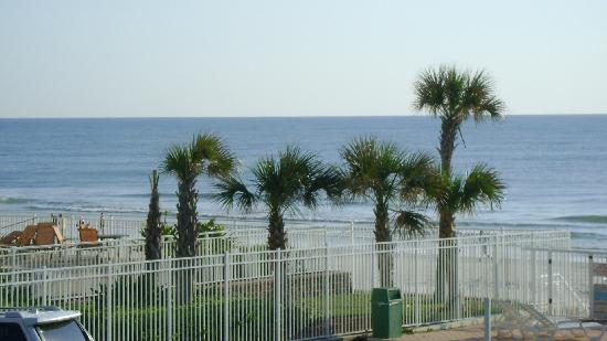 Atlantic Ocean Palm Inn: View from the Balcony