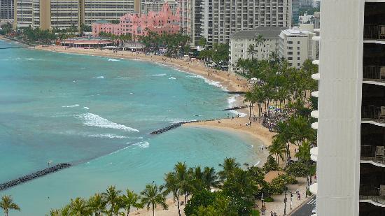 Aston Waikiki Beach Hotel: and another view