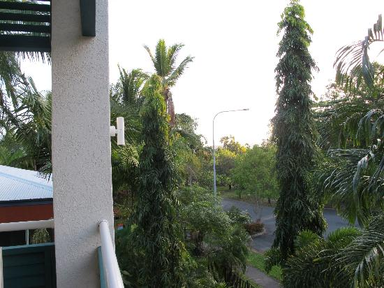 Verandahs Boutique Apartments: view from balcony