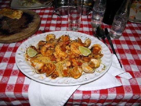 Il Veneziano: Spaghetti de Mariscos
