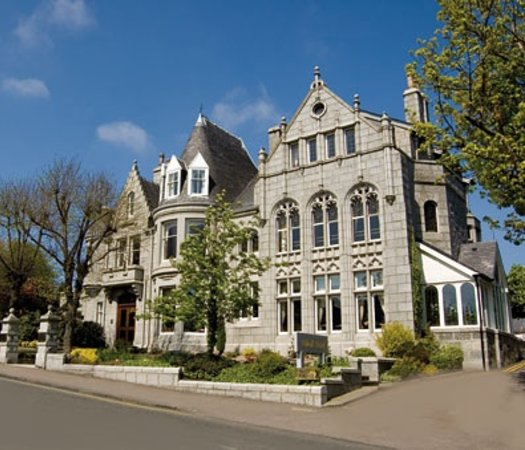 Atholl Hotel Restaurant: a small hotel in the city of aberdeen