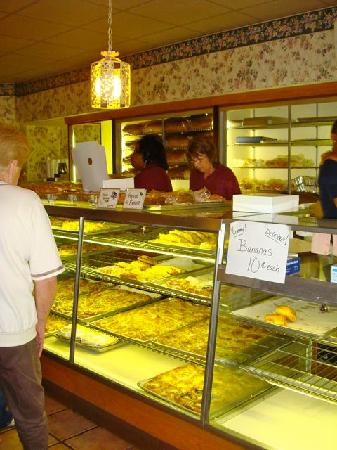 Harner's Bakery Restaurant: Small Section of the Large Bakery Counter