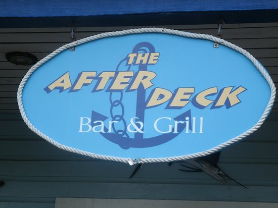 After Deck : GREAT PLACE 5 STARS!!