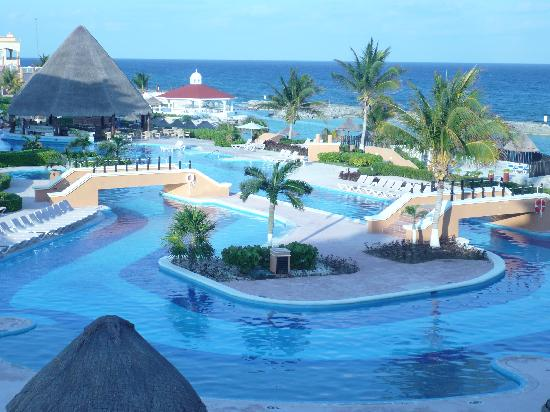 Hard Rock Hotel Riviera Maya: View from our patio.