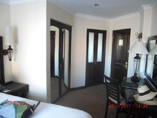 Premier Hotel Pretoria: Las puertas...
