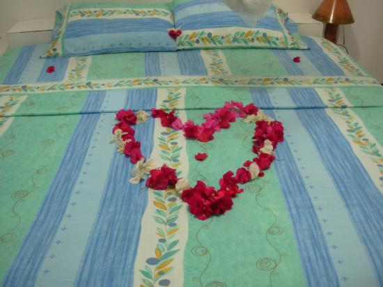 Bijou des Caraibes: Our Bed