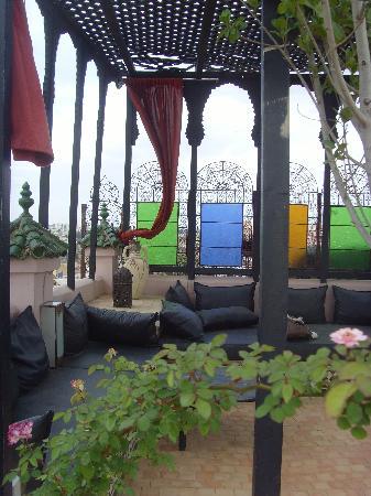 Riad d'Or: la terrazza