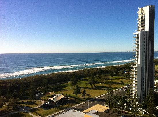 Peppers Broadbeach: View from our room