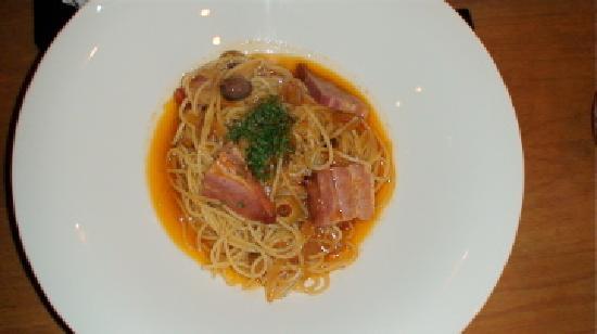 Resutorannanabankan : Spaghetti