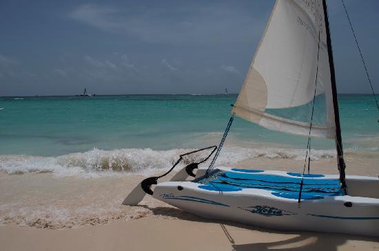 Grand Bahia Principe Bavaro : Sailing at Bahia Principe