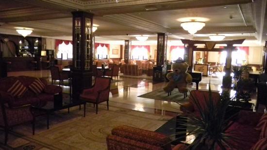 Radisson Hotel Astana: Hotel lobby