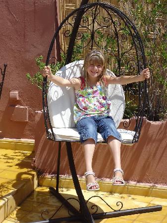 Riad Aldiana: Aldiana sur la terrasse