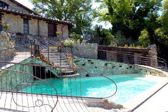 Castel dell'Aquila, อิตาลี: Pool