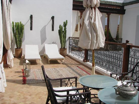 Bellamane, Ryad & Spa: Une des terrasses