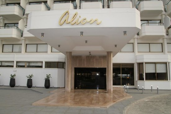 Alion Beach Hotel: Hotel entrance
