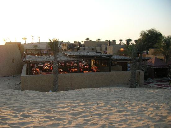 Bab Al Shams Desert Resort & Spa: レストラン