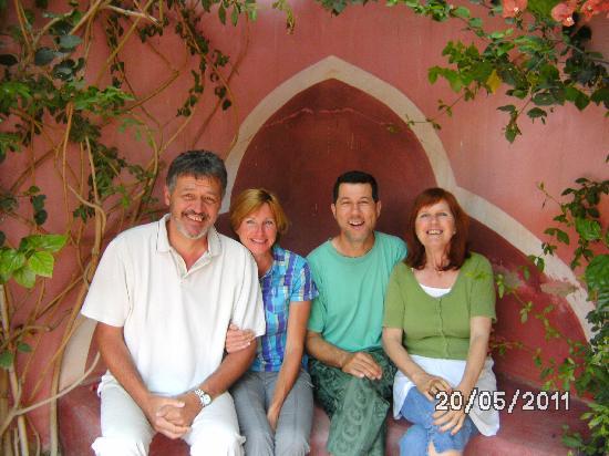 Maison d'Hotes Bab el Maader : Nos hôtes et nous !