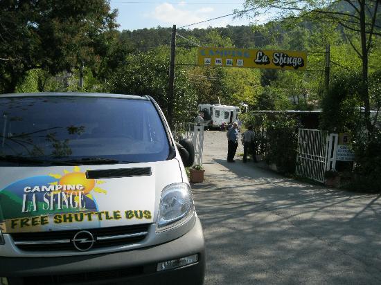 Camping La Sfinge : Camp + Shuttle