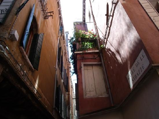 Bed And Breakfast Ca' Luisa: calle donde se encuentra