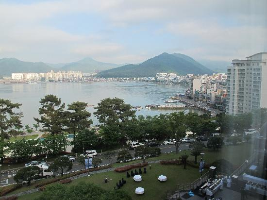 Geoje, South Korea: View from my room